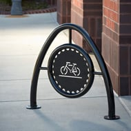 Anova Beacon Hill Powder Coated Bike Rack