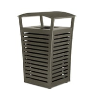 Anova Exposition 22 Gallon Trash Receptacle/Recycler, Side Door