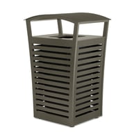Exposition 33 Gallon Trash Receptacle/Recycler, Side Door