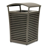 Exposition 45 Gallon Trash Receptacle/Recycler, Side Door