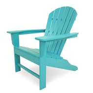 Polywood® South Beach Recycled Plastic Adirondack Chair, Vibrant Colors
