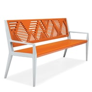 Tandem 6' Contour Bench, Mountain Range