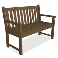 Polywood Traditional Garden 4' Recycled Plastic Bench