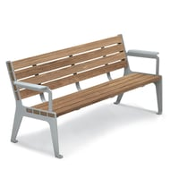 Anova Madison 6' Thermory Contour Bench