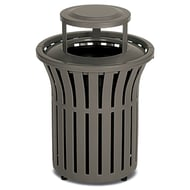 Anova Rendezvous 32 Gallon Trash Receptacle, Bonnet Top