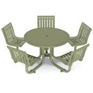 Latitude Table, 5 Swivel Seats