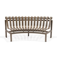Texacraft Inside Circular Armless Slat Bench