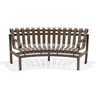 Texacraft Inside Circular Slat Bench with Two Arms