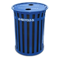 WITT Oakley 50 Gallon Recycling Receptacle