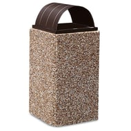Anova Structure 30 Gallon Trash Receptacle, Curved Top