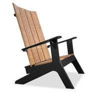 Anova Plank Adirondack Chair, Thermory