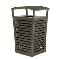 Exposition 33 Gal Receptacle/Recycler, Side Door, Low-Profile Fusion Advantage Finish