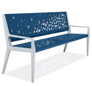 Anova Tandem 6' Contour Bench, Fractured Movement