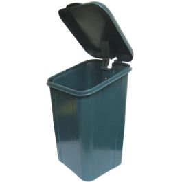 DOGIPOT 10 Gallon Polyethylene Pet Waste Receptacle with Lid
