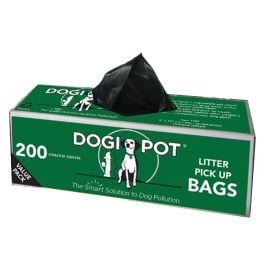DOGIPOT Smart Litter Dog Waste Bags/Case of 20 Rolls (4000 bags)
