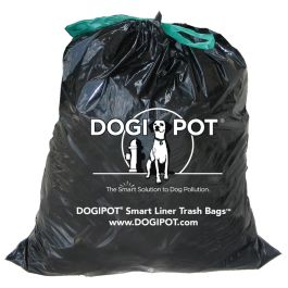 DOGIPOT Dog Waste Receptacle Trash Liner Bags/Case of 50 Liners