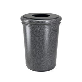Commercial Zone StoneTec 50-Gallon Round Waste Container