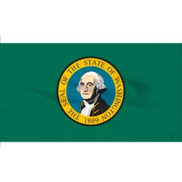 5' x 8' Outdoor Washington Flag