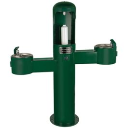 Stern Williams Outdoor Water Bottle Filler Station with Dual Drinking Fountains