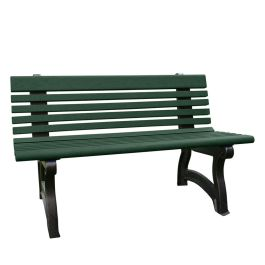 Polly Products Willow 4 ft. Recycled Plastic Bench