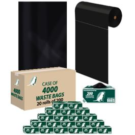 Upbeat Dog Waste Roll Bags - Case of 4000 Bags
