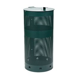 Upbeat Round 10 Gallon Mesh Dog Waste Can with Lid