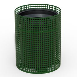Anova Ultra 32 Gallon Perforated Steel Trash Receptacle Base - Top Sold Separately