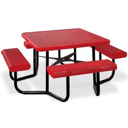 Anova Square Expanded Steel Table, Portable Frame 1399