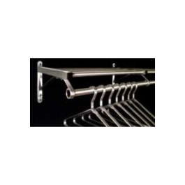 "Wall Mount 72"" Modular Coat and Hat Rack"
