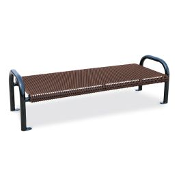 Anova Ultra 6' Expanded Steel X-Wide Flat Bench, Port/Surf Mnt