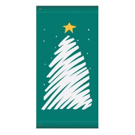 "Anova 60"" Christmas Tree Banner"