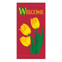 "Anova 60"" Welcome Tulip Banner"