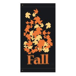 "Anova 60"" Fall Leaves Banner"