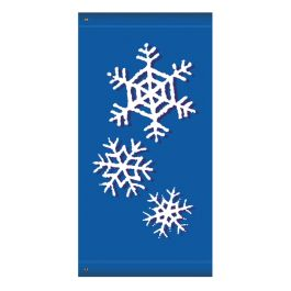 "Anova 60"" Snow Shadow Banner"
