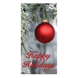 "Anova 60"" Ornament, Happy Holidays Banner"