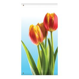"Anova 60"" Red Tulips Banner"
