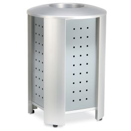 Anova Signature 40 Gal Trash Receptacle, Stainless Steel Panels