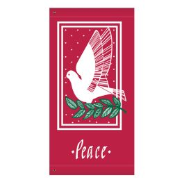 "Anova 60"" Dove with Peace Banner"