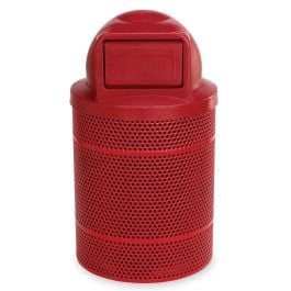 Anova Rally 32 Gallon Trash Receptacle, Dome Top