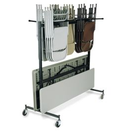 Table & Chair Caddy with 42 Chair Capacity