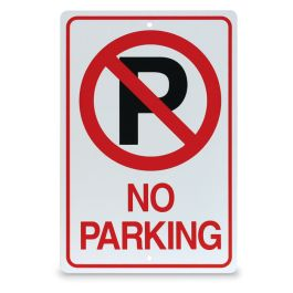 "18"" x 12"" No Parking Sign"