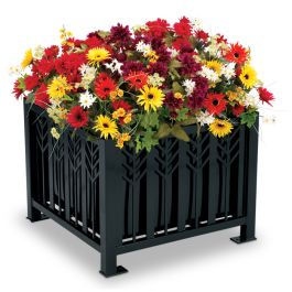 Petersen Spencer Square Metal Planter
