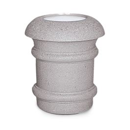 Petersen Aurora Series Concrete Ash Urn