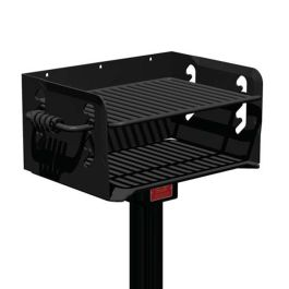 Pilot Rock N-20 Series 300 Sq. Inch Charcoal Park Grill with Inground Mount