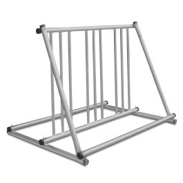 Madrax Grand Stand Steel Bike Rack with Galvanized Finish, 6-Bike Capacity