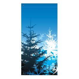 "Anova 60"" Snow Covered Trees Banner"