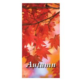 "Anova 60"" Red Leaves Banner"