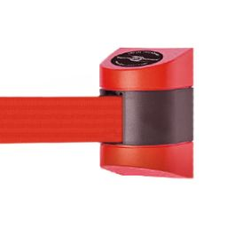 Wall-Mount TensaBarrier with Black & Red Case