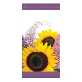 "Anova 60"" Sunflowers Banner"