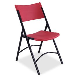 Plastic Folding Chair, Colored, Set of 4